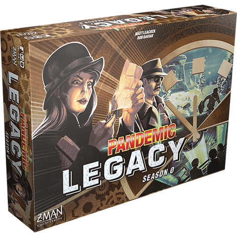 Pandemic Legacy: Season Zero - with promotional stickers while stocks last