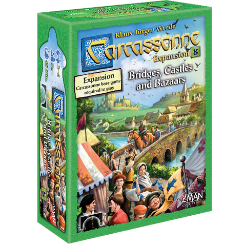 Carcassonne Expansion 8: Bridges, Castles & Bazaars - Leisure Games