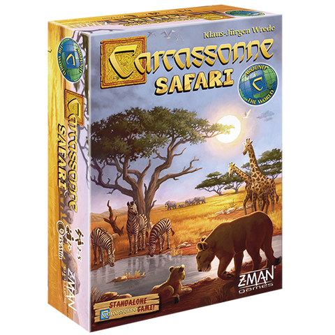 Carcassonne: Safari (expected in stock on 11th December)