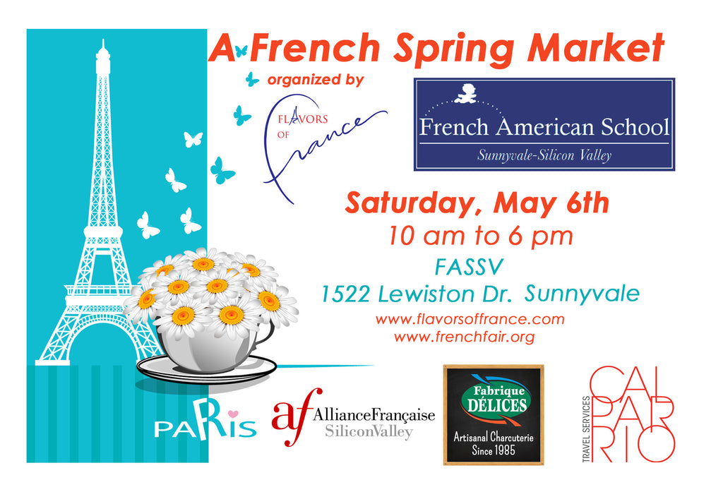French Spring Market - Sunnyvale, Saturday May 6th