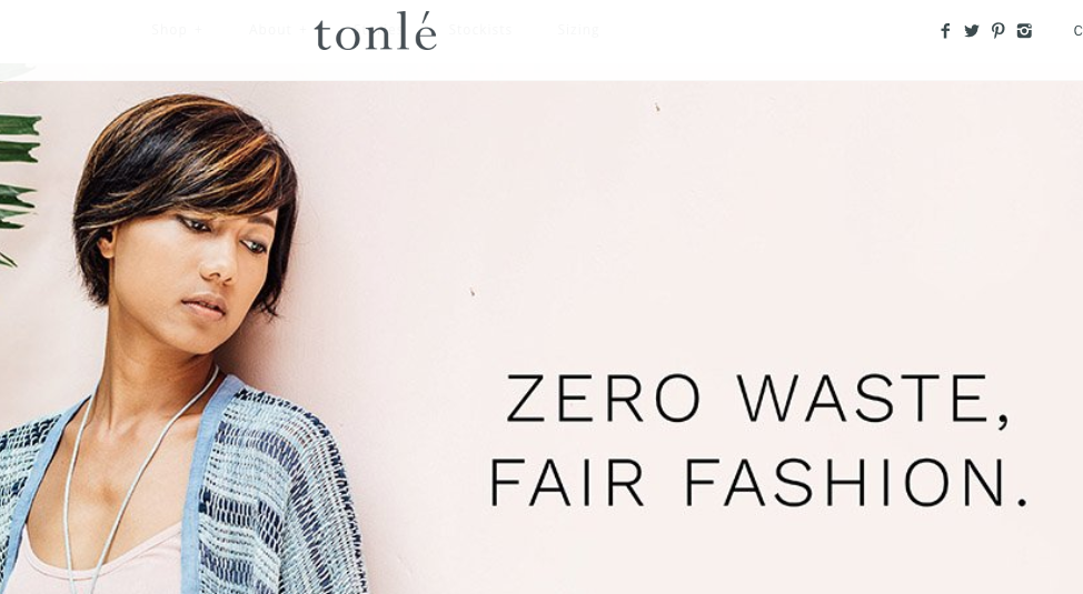 tonle zero waste fashion