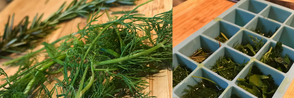 zero waste oils herbs recipe