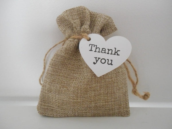 goodie bag reusable sustainable burlap