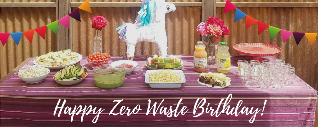 zero waste birthday party