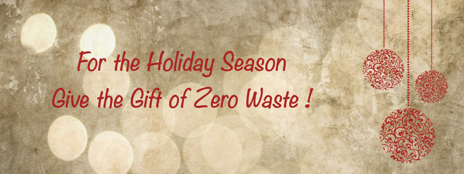 zero waste gifts holiday season