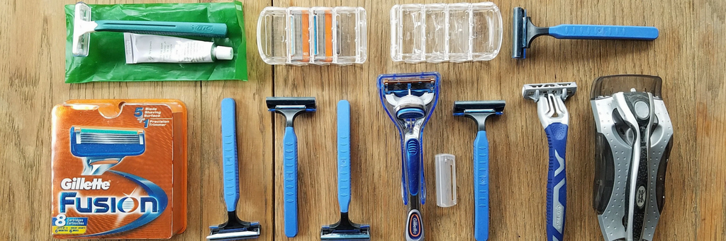 disposable razors gillette plastic