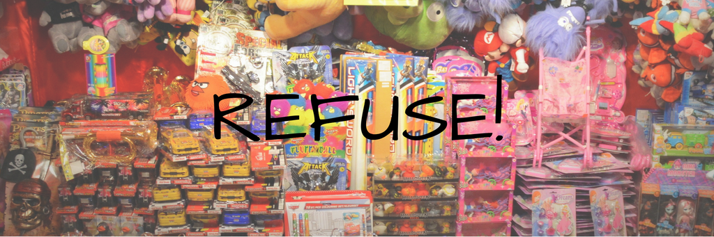 refuse plastic toys cheap freebies