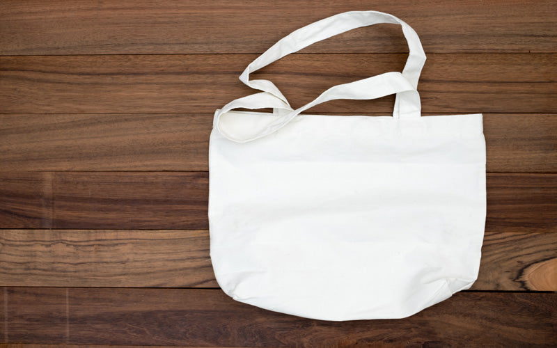 reusable tote bag zero waste shopping
