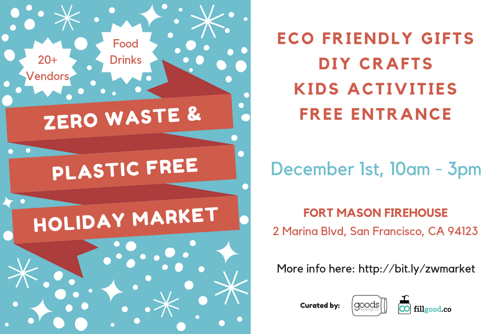 zero waste holiday market san francisco