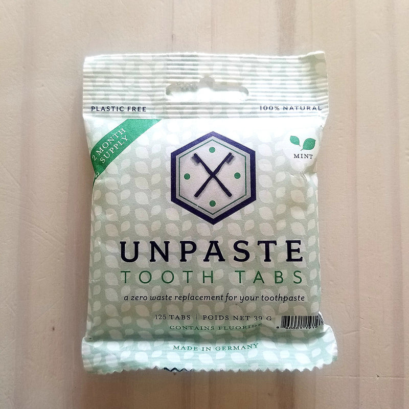 Unpaste Toothpaste Tablets with Fluoride