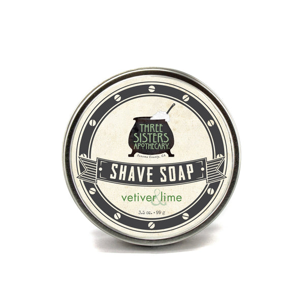 Shave Soap, 3.5 oz