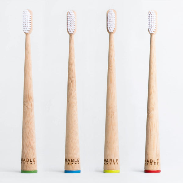 Adult Bamboo Toothbrush - Two-Pack and Four-Pack