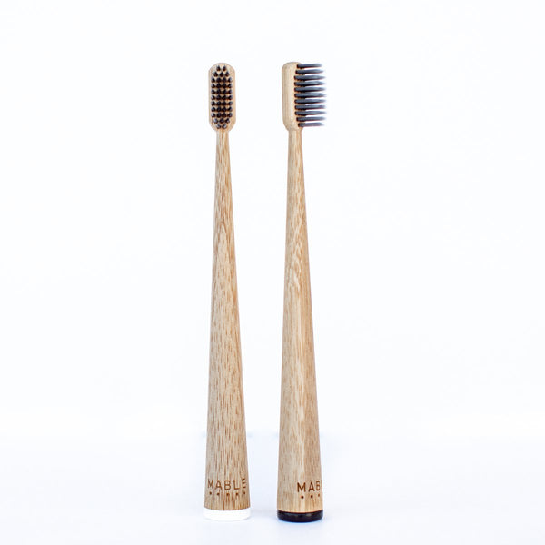 Charcoal Bamboo Toothbrush - Two Pack