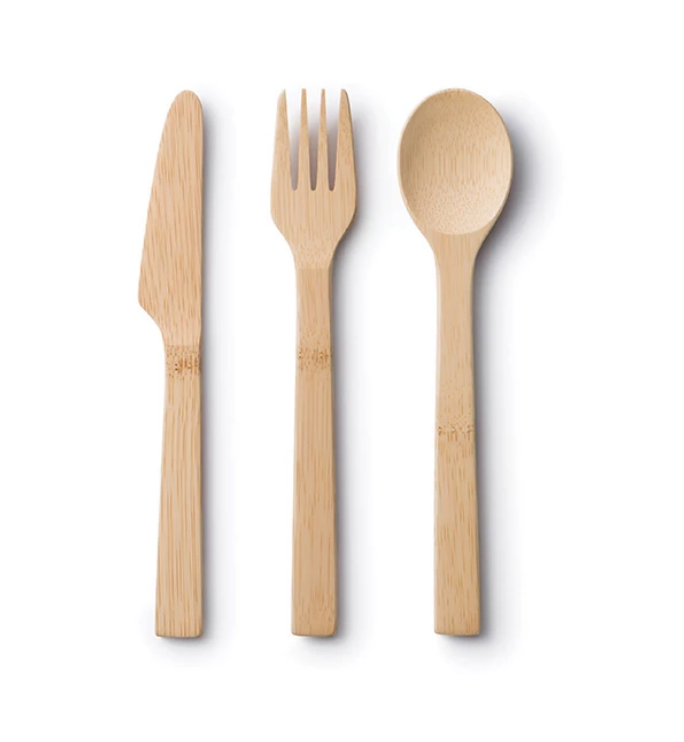 Bamboo Utensils Set