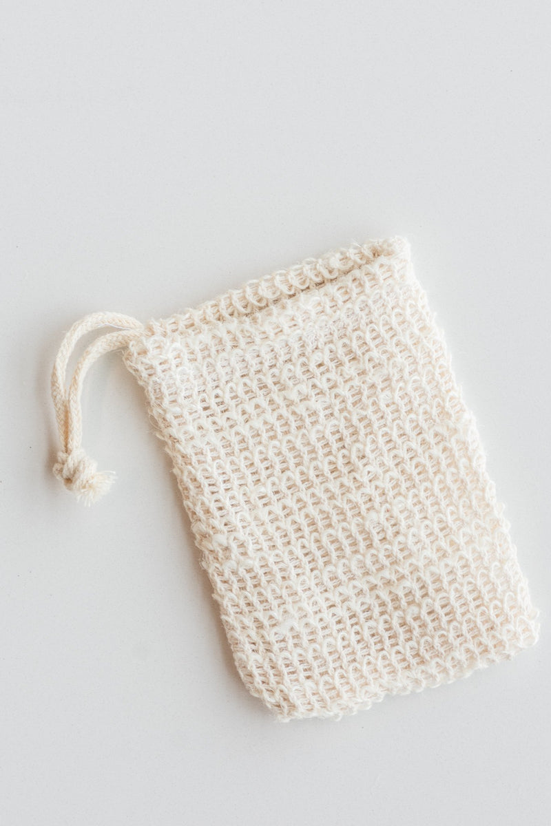 Agave Woven Exfoliating Soap Bag