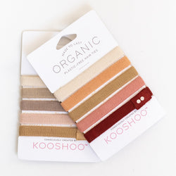 Plastic-Free and Organic Hair Ties
