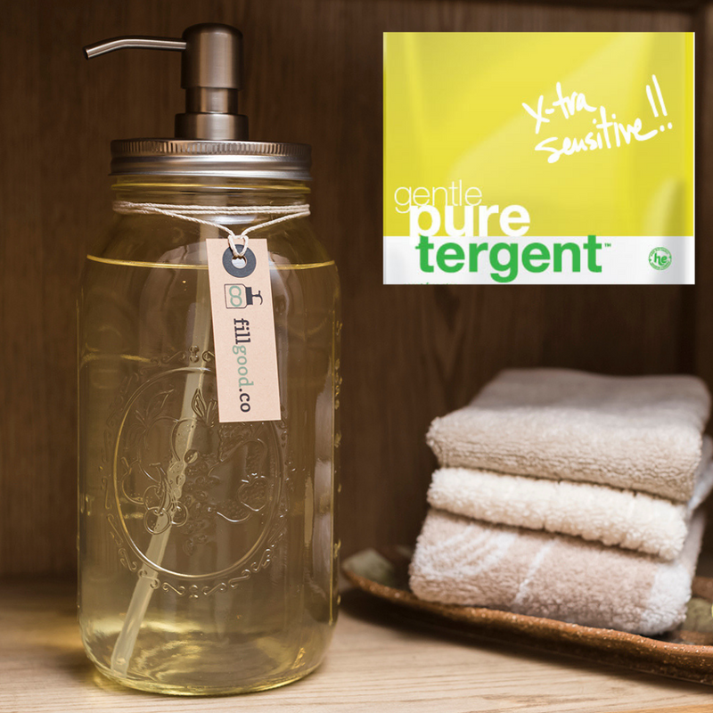 Puretergent, Gentle - Unscented