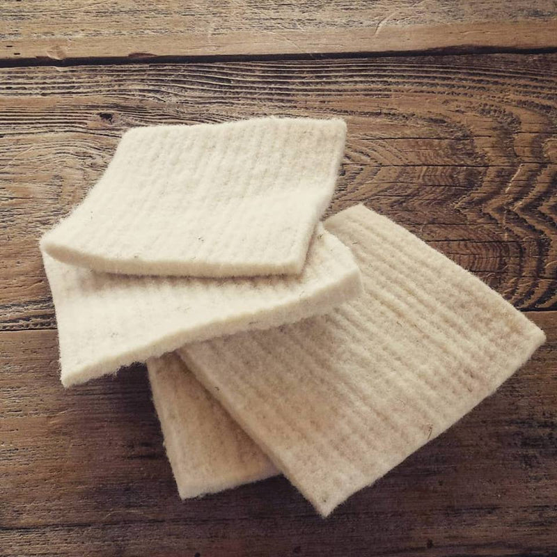 Wool Sponges - Pack of 2