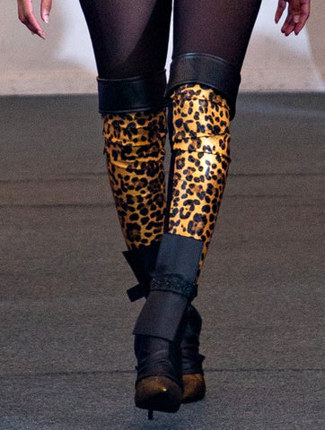 LEOPARD PRINT THIGH BOOT LEGGING