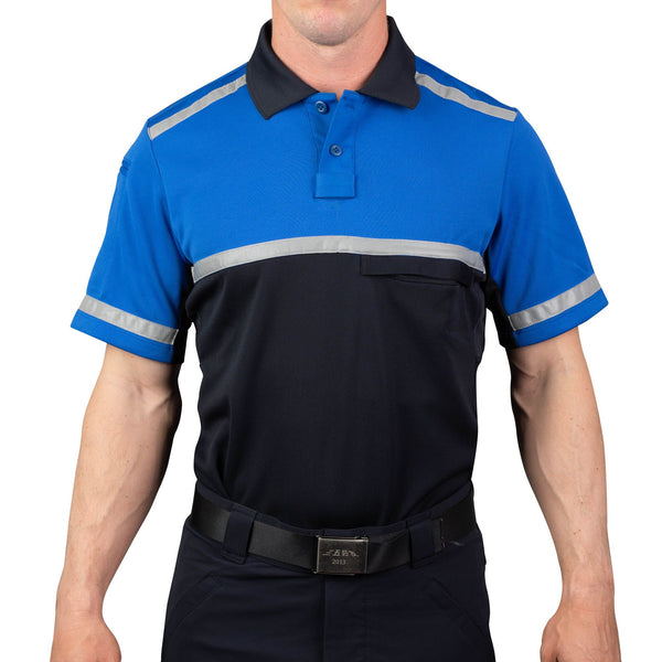 Cycling Patrol Polo Shirt Royal/Navy