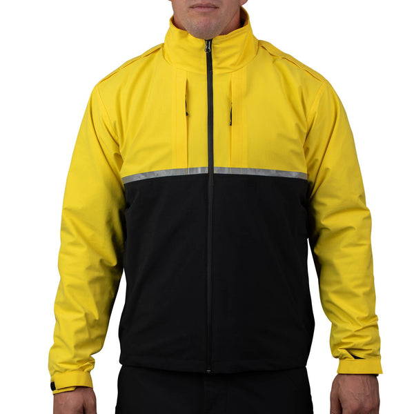 Waterproof 3-In-1 Patrol Jacket Yellow/Black