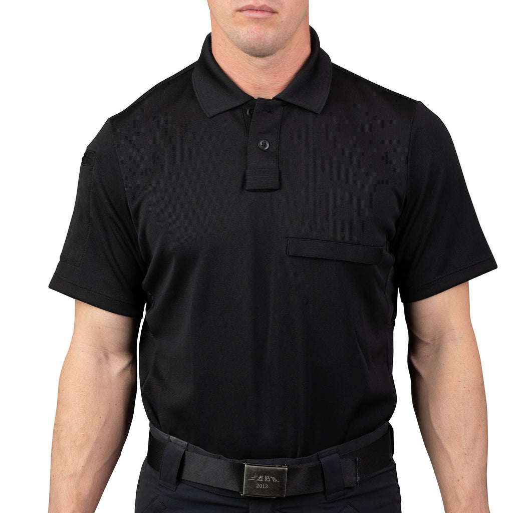 Patrol Polo Shirt Black