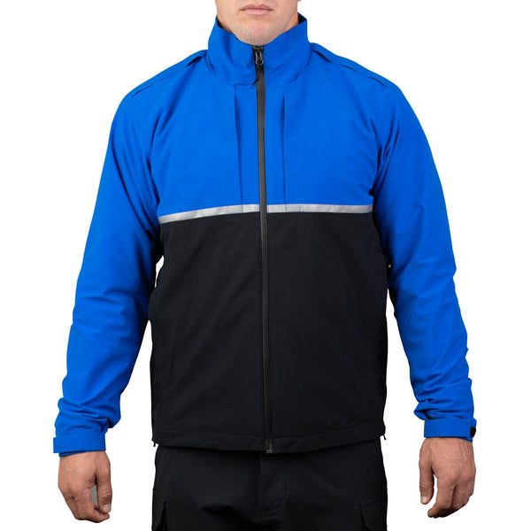 Waterproof 3-In-1 Patrol Jacket Royal/Black
