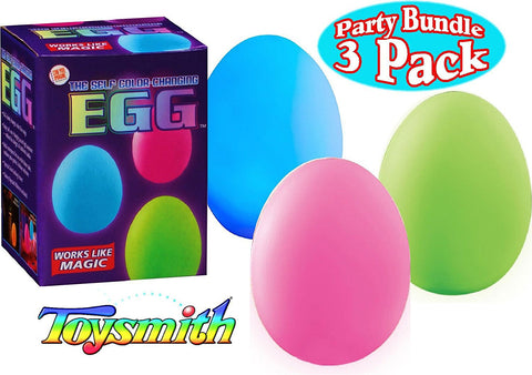 Color changing eggs