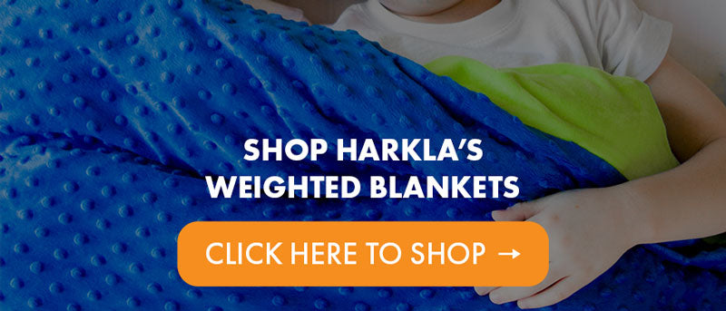 Shop Harkla's Weighted Blanket for Kids