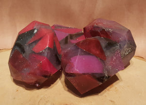 Ruby Gemstone Soap - Unique - Lavender & Lilac