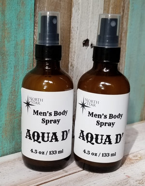 Noth Star Aqua D' Men's Body Spray - Lavender & Lilac