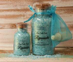 Rejuvenate Sea Salt Bath Soak - 22 oz. - Lavender & Lilac