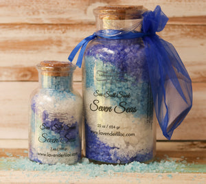 Seven Seas Sea Salt Bath Soak - 6 oz. - Lavender & Lilac