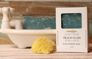 Beach Glass Soap - Lavender & Lilac