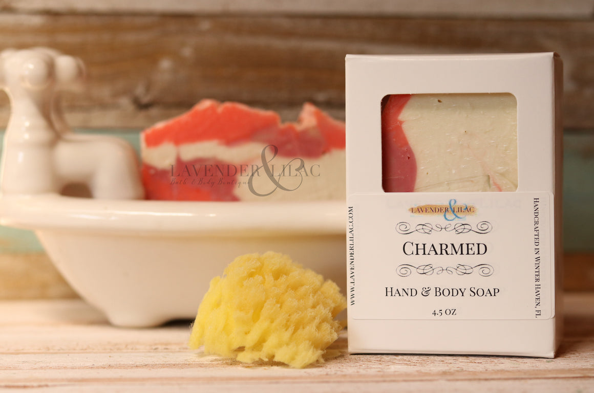Charmed (Our version of Juicy Couture) Soap - Lavender & Lilac