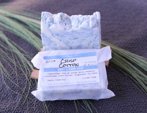 Crisp Cotton Soap - Lavender & Lilac