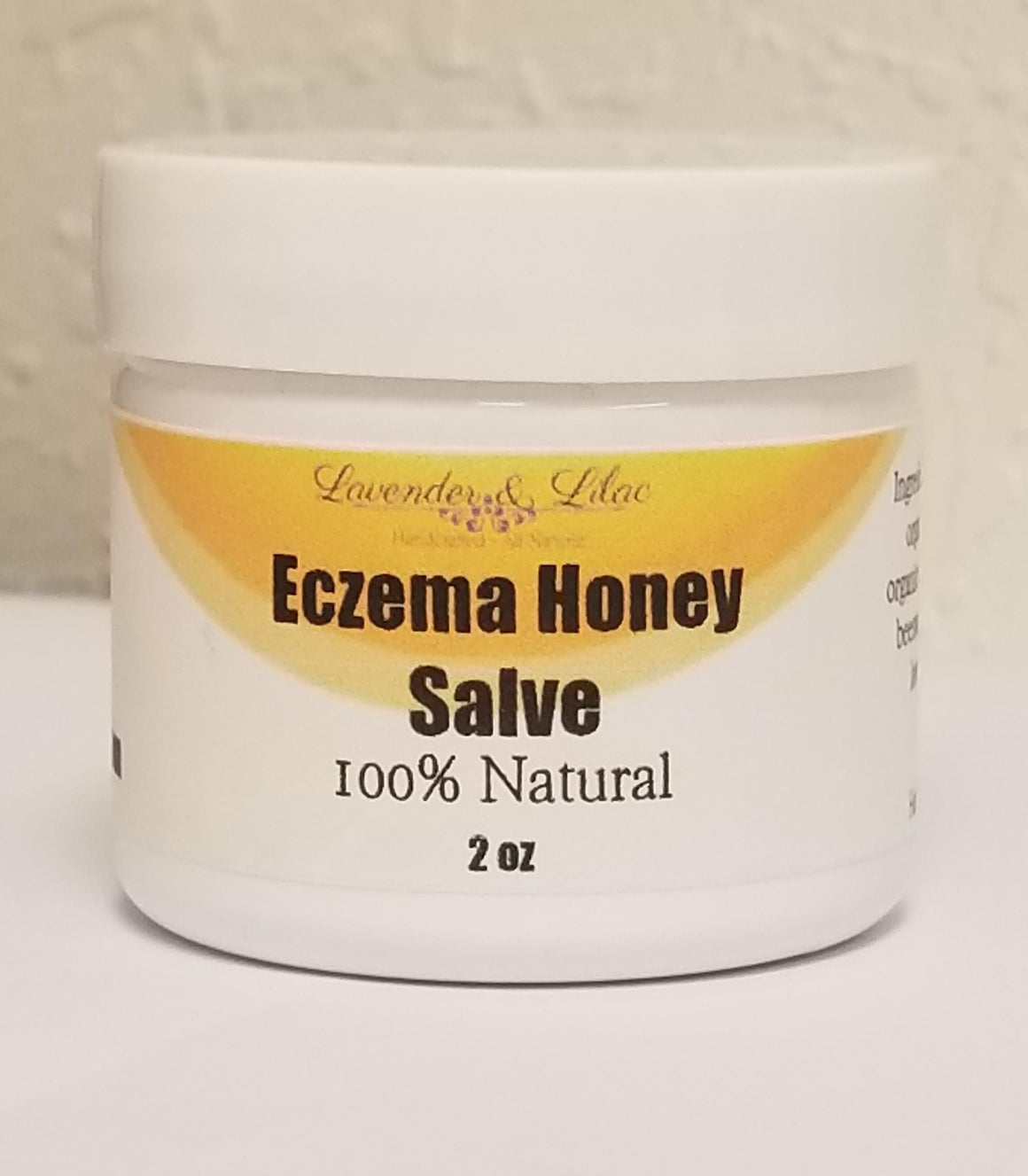 Eczema Honey Salve - Lavender & Lilac