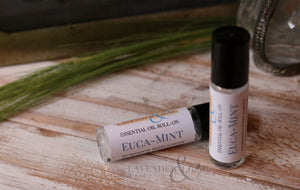Euca-Mint Essential Oil Roll On - Lavender & Lilac