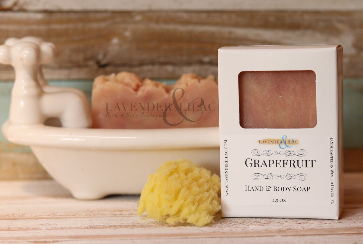 Grapefruit Soap - Lavender & Lilac