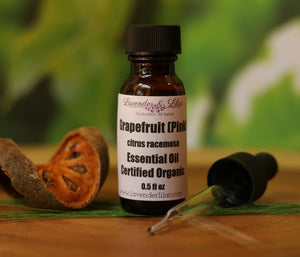 Grapefruit (Pink) Certified Organic EO (Essential Oil) - Lavender & Lilac