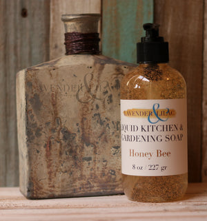 Honey Bee Kitchen & Gardening Liquid Hand Soap - Lavender & Lilac