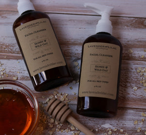 Luxe Honey & Wild Oat Cleanser - Lavender & Lilac