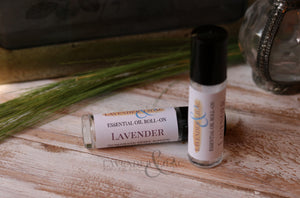 Lavender Essential Oil Roll On - Lavender & Lilac