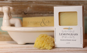 Lemongrass Soap - Lavender & Lilac