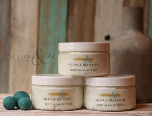 Orange Blossom Whipped Body Bliss Butter - Lavender & Lilac