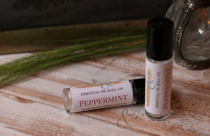Peppermint Essential Oil Roll On - Lavender & Lilac