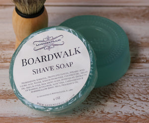Boardwalk Shave Soap - Lavender & Lilac