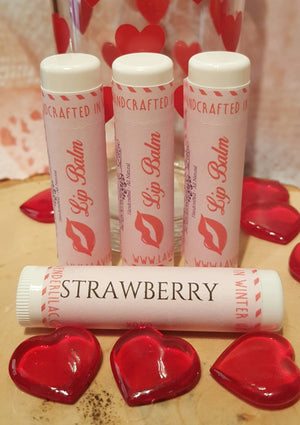 Xoxo Strawberry Lip Balm - Lavender & Lilac