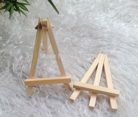 Miniature Easels for Table Numbers or Place Names (x 24)