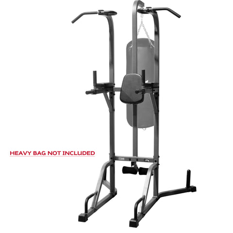XMark Deluxe Power Tower and Heavy Bag Stand XM-2842 - Home Gyms Depot